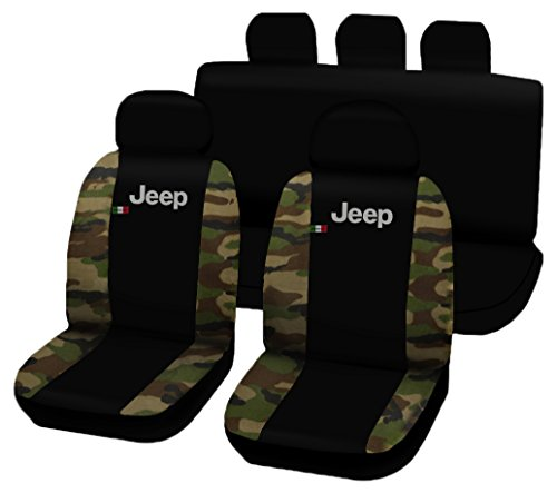 lupex-shop-jeepnmcl-fundas-para-asientos-de-coche-bicolores-diseno-de-camuflaje-clasico-y-color-negr
