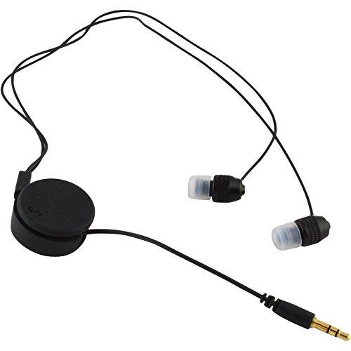 Earphone Headphone Cable Winder Organizer Cord Wrap, Black