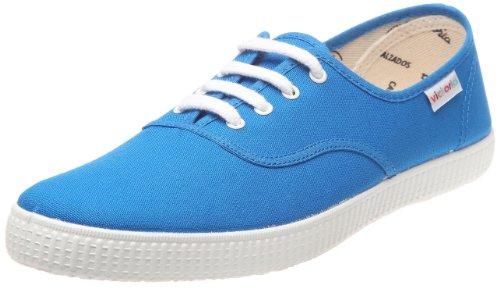 victoria - Sneaker Inglesa Lona, Donna, Blu (francia)), 40