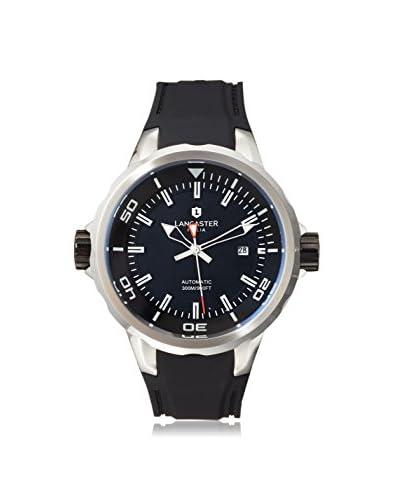 Lancaster Men's OLA0668S Black Plastic Watch
