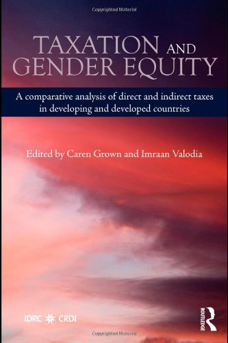 Taxation and Gender Equity: A Comparative Analysis of Direct and Indirect Taxes in Developing and Developed Countries (Routledge International Studies in Money and Banking)