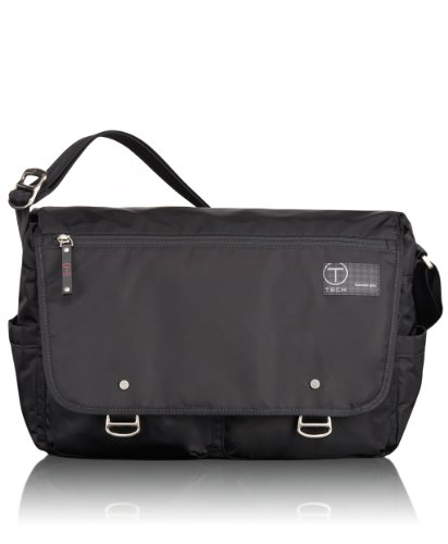 Tumi Luggage T-Tech Icon Hans Laptop Messenger, Black, One Size
