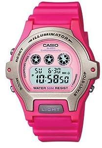 Casio Women's Watch Pink Resin Strap Lw202h-4av