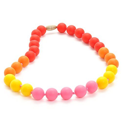 Juniorbeads Bleecker Jr. Necklace - Punchy Pink
