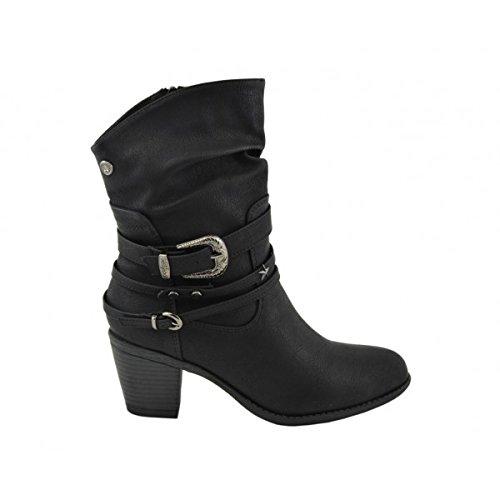 Chika 10, Stivali donna nero Size: 39