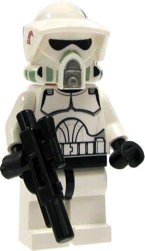 LEGO Star Wars LOOSE Mini Figure EPII Clone Wars ARF Clone Trooper with Blaster - 1