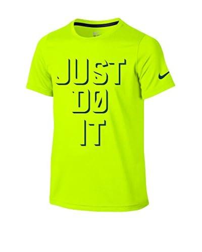 Nike T-Shirt Legend Ss Sharp Shadow Jdi Yth limette