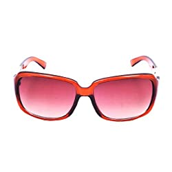 Riyan brown Square Sunglasses (Riyan-59)