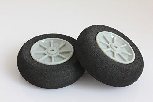 RC Plastic Core Sponge Wheels D55mm