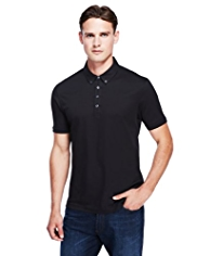 Autograph Pure Cotton Slim Fit Polo Shirt