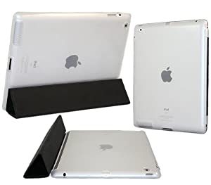 iTALKonline ProGel MATTE FROSTED CLARO TRANSPARENTE Volver Funda TPU brillante Tough / piel para Apple iPad 2 2nd generation (Wi-Fi and Wi-Fi + 3G) 16GB 32GB 64GB works con GENUINE Apple iPad 2 Smart Cover
