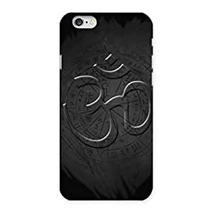 Delighted Om Grey Back Case Cover for iPhone 6 6S