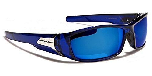 Arctic-Lunettes-de-Soleil-Sport-Ski-Surf-Cyclisme-Conduite-Moto-Plage-Squash-Mod-Prizm-Bleu-Cristal-Ice-Blue-Iridium-Miroir