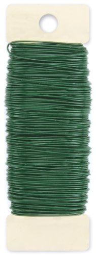 Darice Paddle Wire, 22-Gauge, Green (A Gauge Wire compare prices)