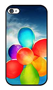 """Humor Gang Balloons Up In Sky Printed Designer Mobile Back Cover For """"Apple Iphone 4 - 4S"""" (2D, Glossy, Premium Quality Snap On Case)"""