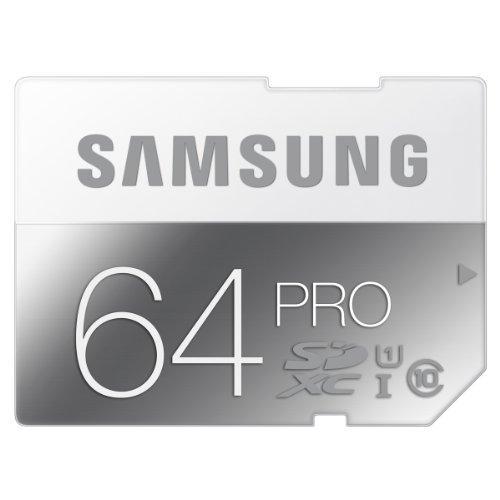 日本サムスン正規品 SAMSUNG PRO SDXCカード 64GB 防水 耐衝撃 UHS-I Class10 最大書き込み80MB/s 10年保証 MB-SG64D/JPEC