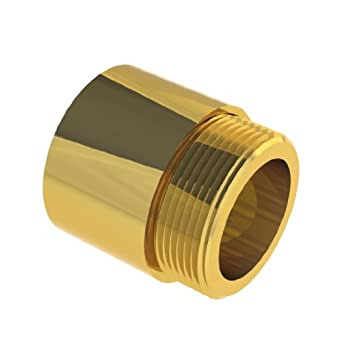 "Helix 20052 Right Hand Thread Bronze 5 Starts Acme Nut, 1/2"" Rod Diameter, 2 Turns per Inch, 0.5"" Lead"