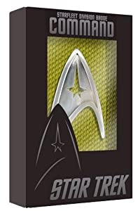 Qmx Star Trek Starfleet Command Division Badge Prop Replica