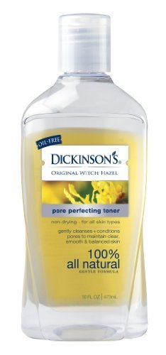 Dickinsons Original Witch Hazel Pore Perfecting Toner,  16oz Bottles(Pack of 6) (Anthony Toner Pads compare prices)