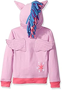 My Little Pony Girls' Twilight Sparkle Hoodie and Hoodie/T-Shirt Bundle