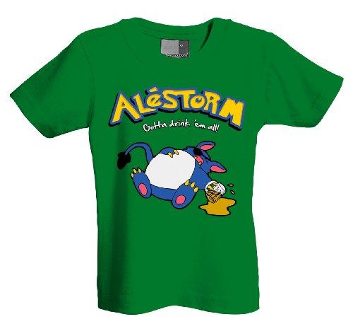 Gotta Alestorm drink Ž em i 701206 Kids T-Shirt Verde Verde - Kelly green