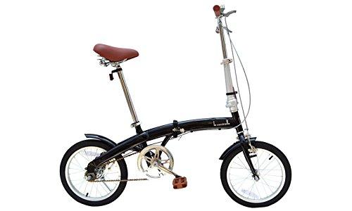 21Technology (OL-16)折りたたみ自転車 16インチ (ブラック)