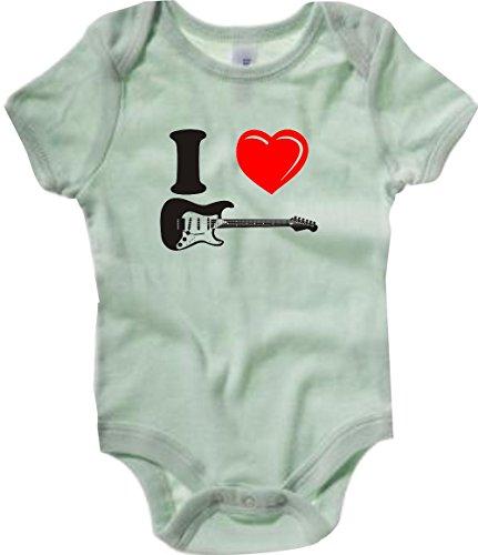 Krokodil-Baby-Body-Musikinstrument-E-Gitarre-Gibson-Fender-Ibanez-viele-Farben-Gre-3-24-Monate