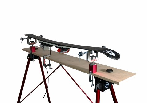 Tools4boards Lasso Ski And Snowboard Vise Red Silver Black Sporting Goods Winter Sports Skiing