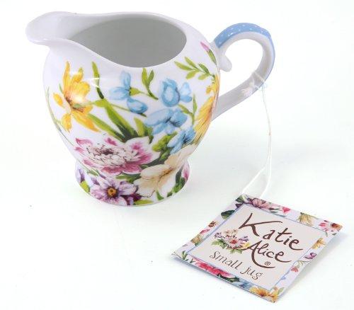 Katie Alice English Garden Fine Bone China Cream Jug