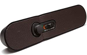 TDK LoR テレビの音声が手元でくっきり聞こえる 2.4GHz デジタル ワイヤレス ステレオ スピーカーシステム ブラック SP-TV24WA-BK
