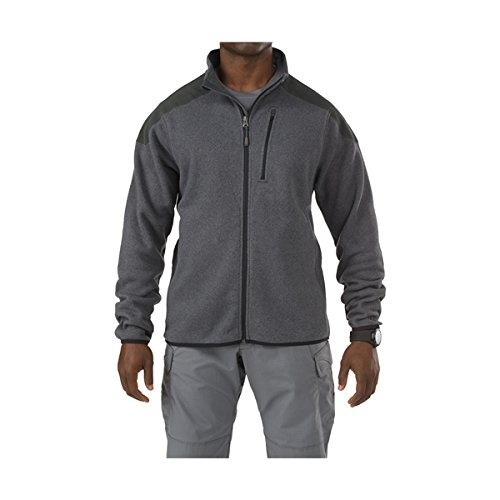 511-Tactical-Full-Zip-Sweater-Gun-Powder-XL