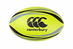 Canterbury CCC Practice Rugby Ball, Yellow, 5