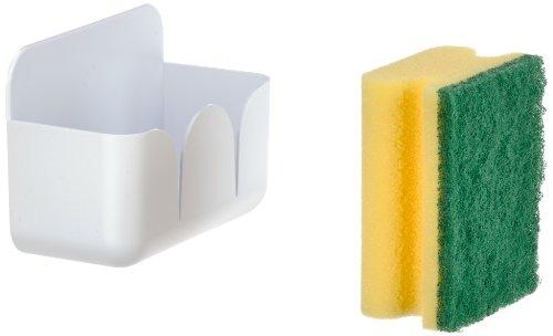 wenko-2020052500-schwammbox-con-10-spugna-polistirolo-115-x-8-x-57-cm-bianco