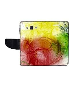 KolorEdge Printed Flip Cover For Samsung Galaxy J2 Multicolor - (1477-47KeMLogo11973SamJ2)