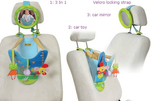 All In One Baby Car Toy Keeps Both And Parent Calm Happy