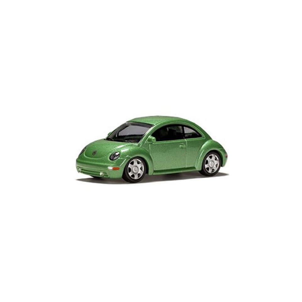164 Scale Volkswagen New Beetle Green Diecast Car Model