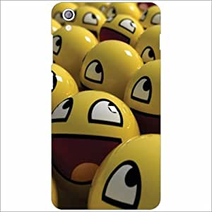 Lenovo S850 Back Cover - Silicon Smily Designer Cases