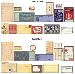 Ephemera Assorted Sizes, 15/Pkg: Vintage
