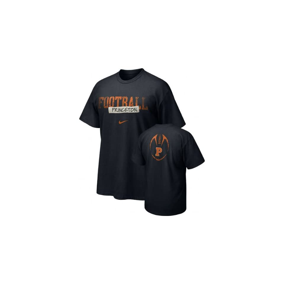 4f29b8f75c08 Princeton Tigers Nike 2009 Team Issue Football Sideline Tee on PopScreen