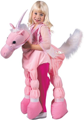 Seasons - Pink Ride A Unicorn Child Costume