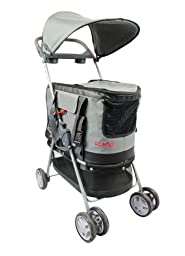 Useful. UH-A125 3 in 1 Pet Stroller ,Carrier and Car Seat Good for Dogs or cats up to 22 lbs.