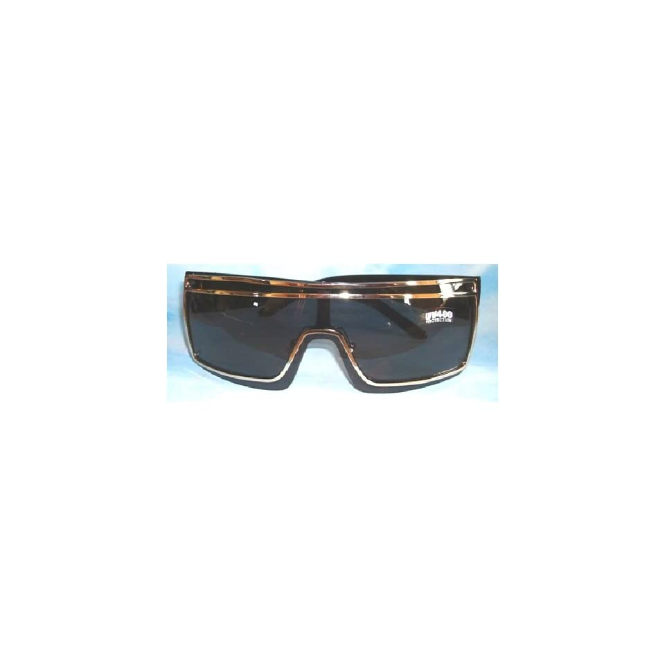 fe52dff7a0 Lady Black Shield Sunglasses Gaga Glasses on PopScreen