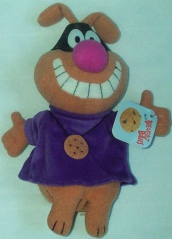 "Chip the Cookie Hound Plush Breakfast Babies Figure 9"" - 1"