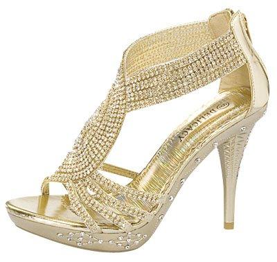 Delicacy-07-Womens-Rhinestone-Event-Dress-Sandals-Gold