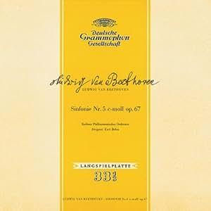 BEETHOVEN : Symphonie n° 5 en ut mineur op. 67 & n° 7 en la majeur op. 92