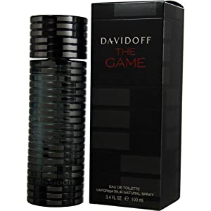 Davidoff The Game Eau de Toilette Spray for Men, 3.4 Ounce