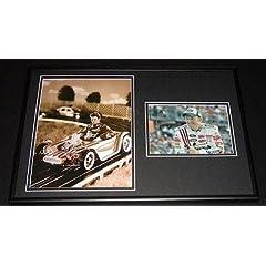 Dale Earnhardt Jr. Signed Photo - Framed 12x18 Set Display - Autographed NASCAR... by Sports Memorabilia
