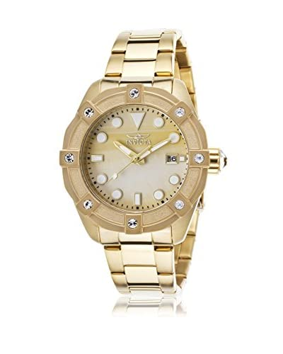 Invicta Women's Invicta-20319 Angel Gold-Tone/Gold Mop Stainless Steel Watch