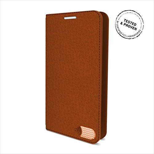 Vest Anti-Radiation Wallet Card Holder Case PU Leather For iPhone 6/6s - Brown (Iphone 6 Plus Case Anti Radiation compare prices)