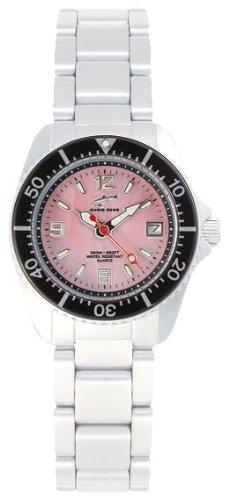 Chris Benz CBL.R.MB.SW - Reloj analógico de cuarzo para mujer con correa de acero inoxidable, color plateado